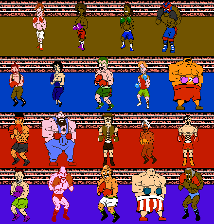 Punch out roster idea by maximal881 on deviantart for What is a punch out list