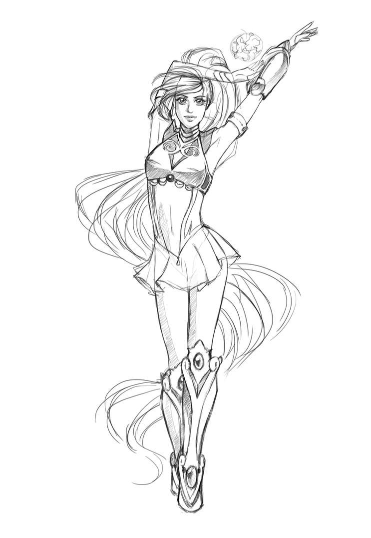 C: Sketch / Sailor V460 by EkatiCAT