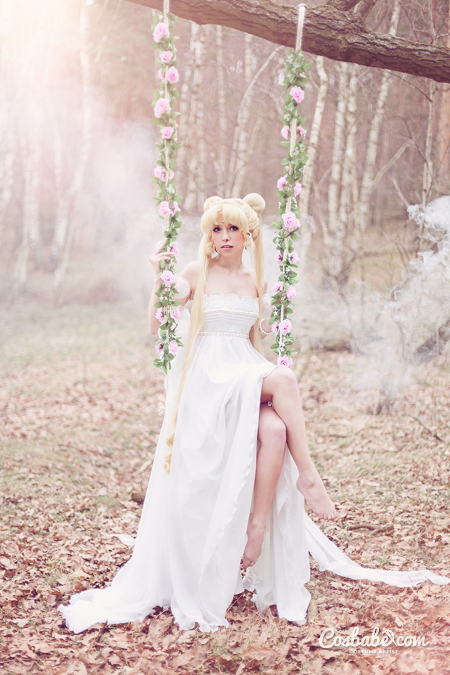 Princess Serenity Sailor Moon II By Cosbabe