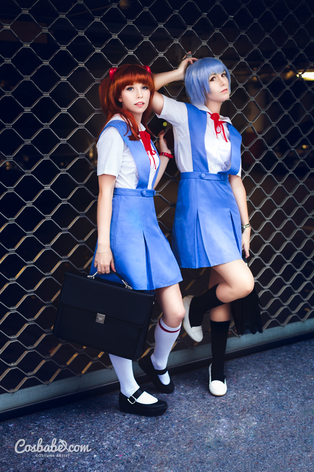Asuka and Rei by Cosbabe