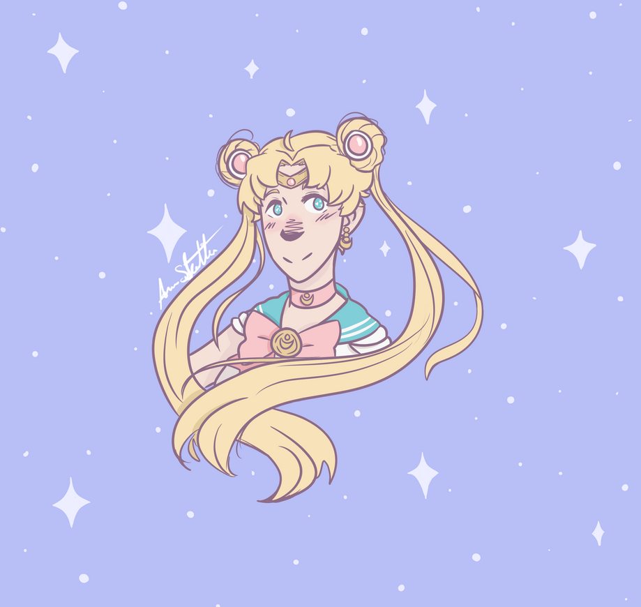 Sailor Moon by Icefang203