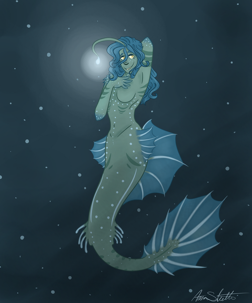 Deep sea mermaid by Icefang203