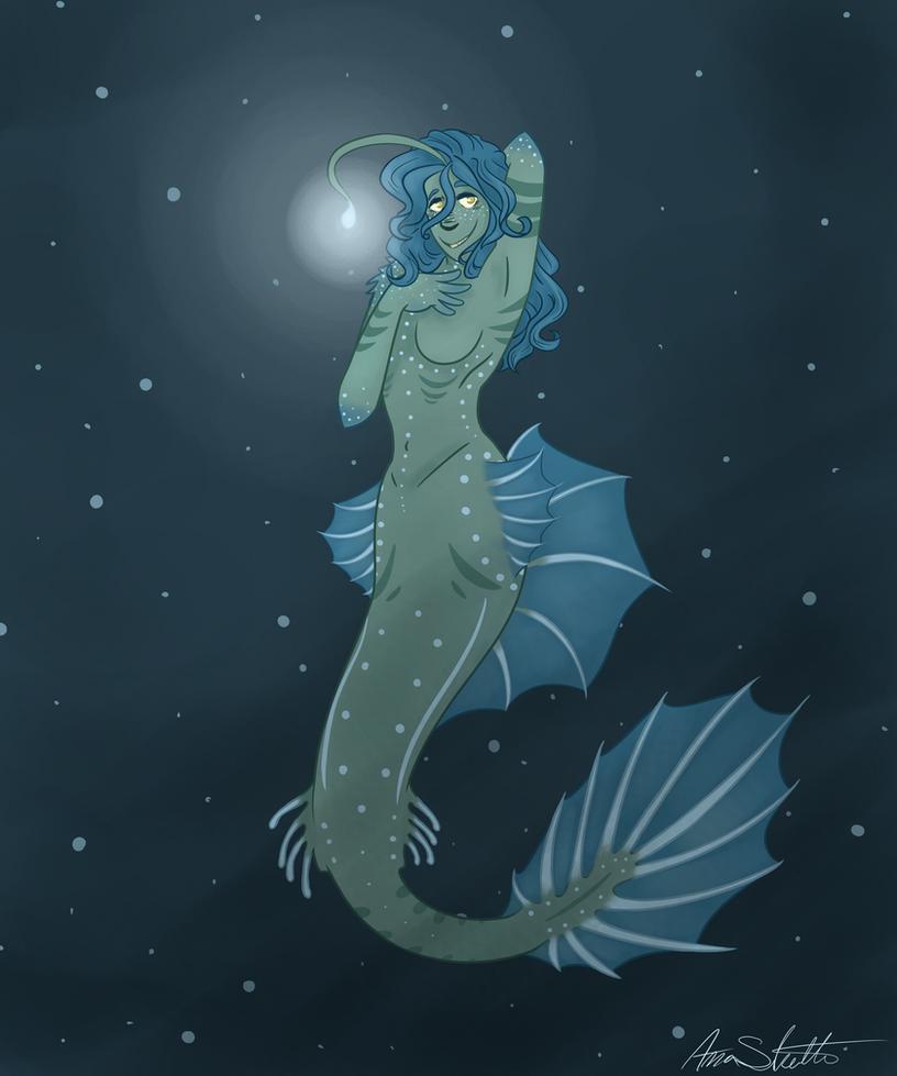 Deep sea mermaid by Icefang203 on DeviantArt