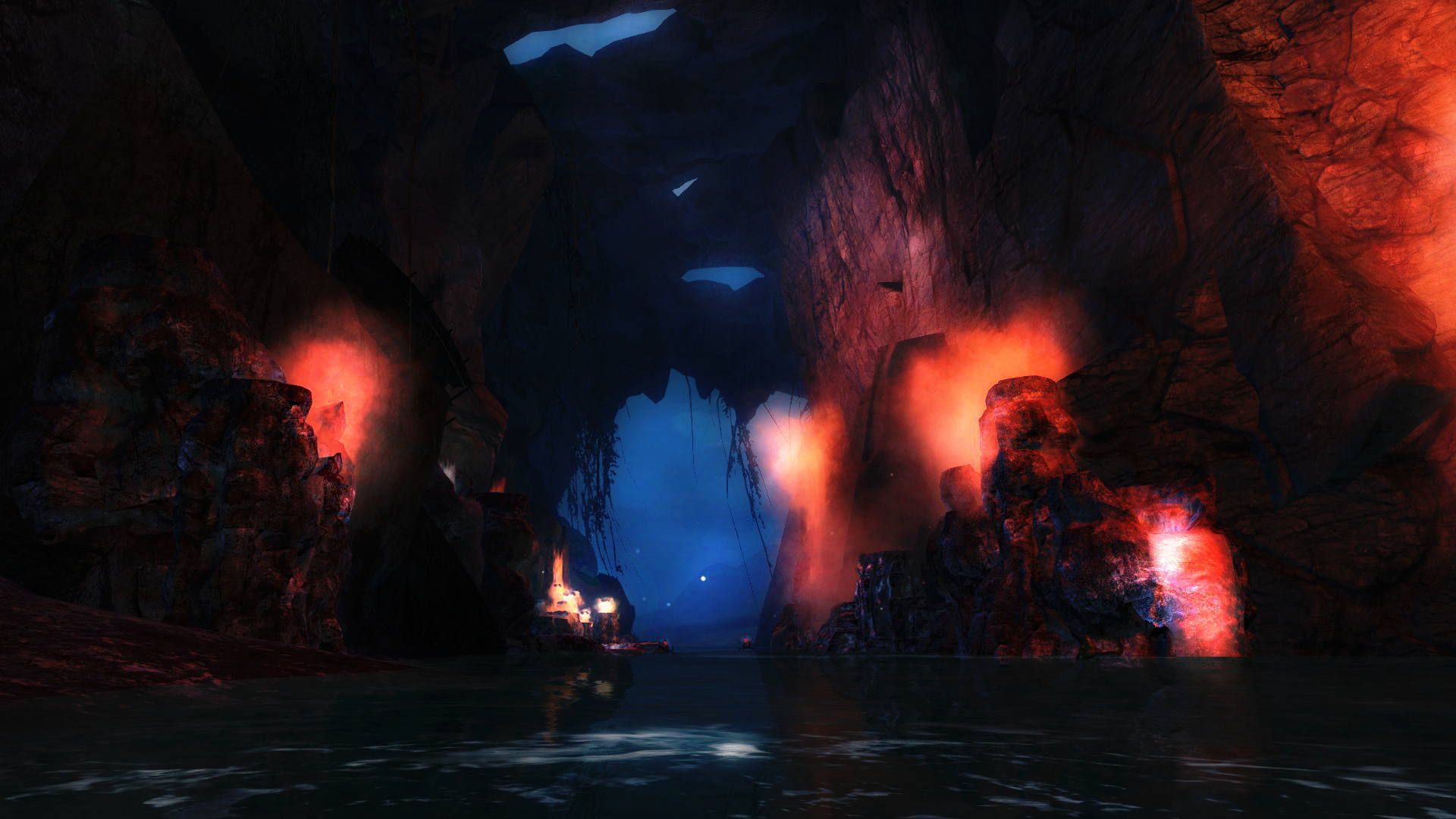 Guild Wars 2 - Karka's Cove by HappyKnight