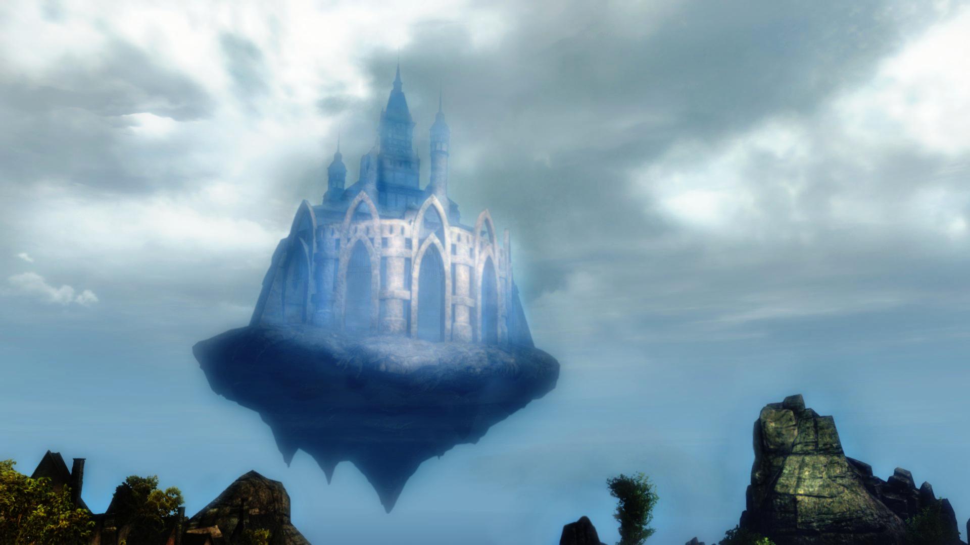 Guild Wars 2 - Castle in the Sky by HappyKnight