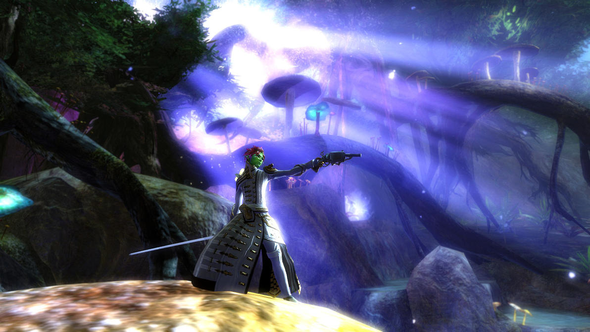 Guild Wars 2 - Svenial by HappyKnight