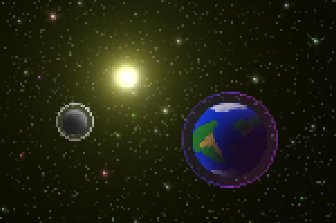 Bit Planetscape by HappyKnight
