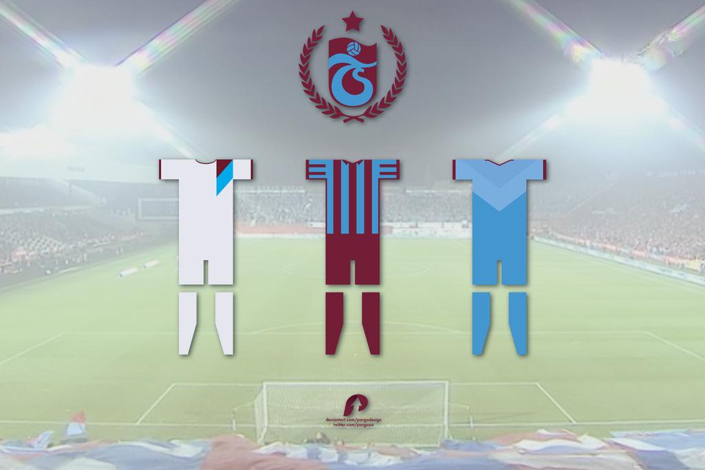 Trabzonspor 2014-2015 Sezonu Formalari By PARGOdesign On