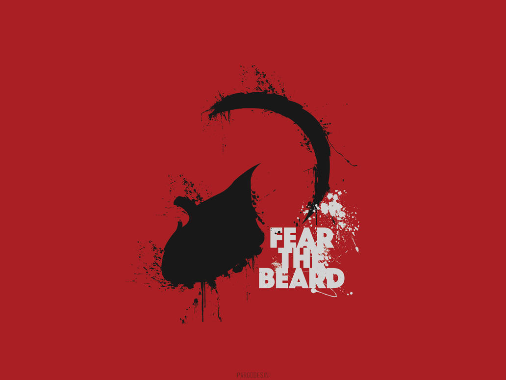 James harden fear the beard logo - photo#4