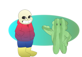 Watermelon and sans by FreeGascogne