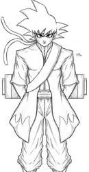 Sage Mode Goku  by WilliamFocus