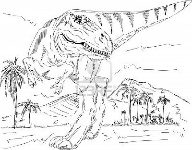Dibujos de dinosaurios para imprimir y colorea by rubensacr on ...