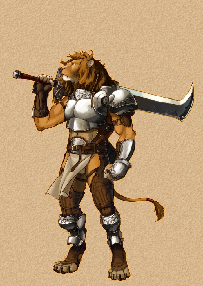 Lion by koutanagamori