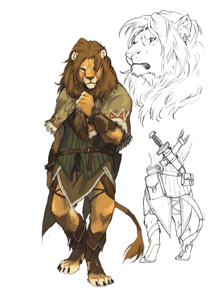 lion2 by koutanagamori