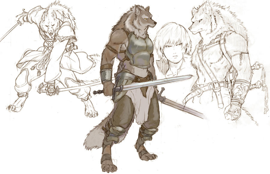 Werewolf by koutanagamori