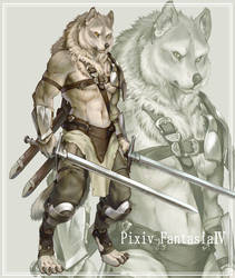 Werewolf's soldier by koutanagamori