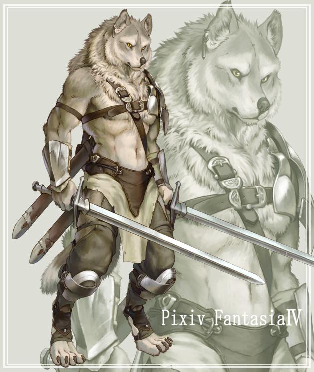 Tablón de la Tripulación [Viajando al Continente Sur] Werewolf__s_soldier_by_koutanagamori