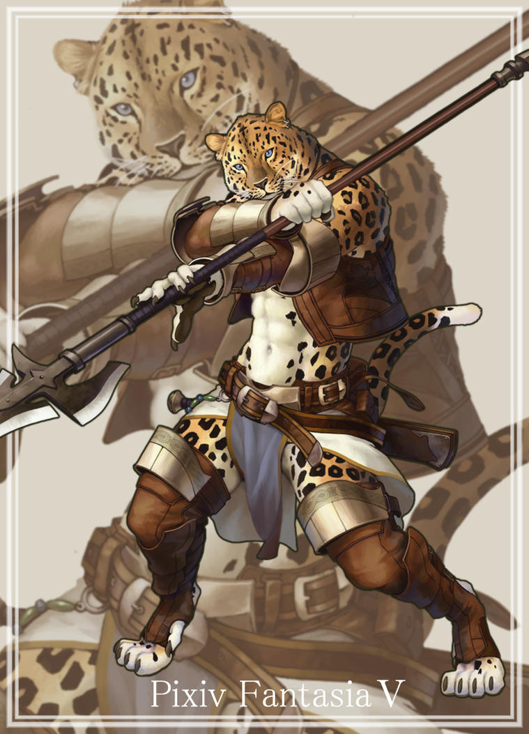 Mercenary of Leopard by koutanagamori