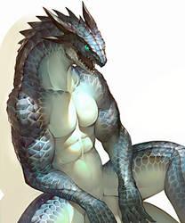 Lizardman by koutanagamori