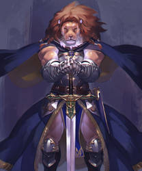 Saber Lion by koutanagamori