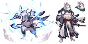 master swordsman wolf