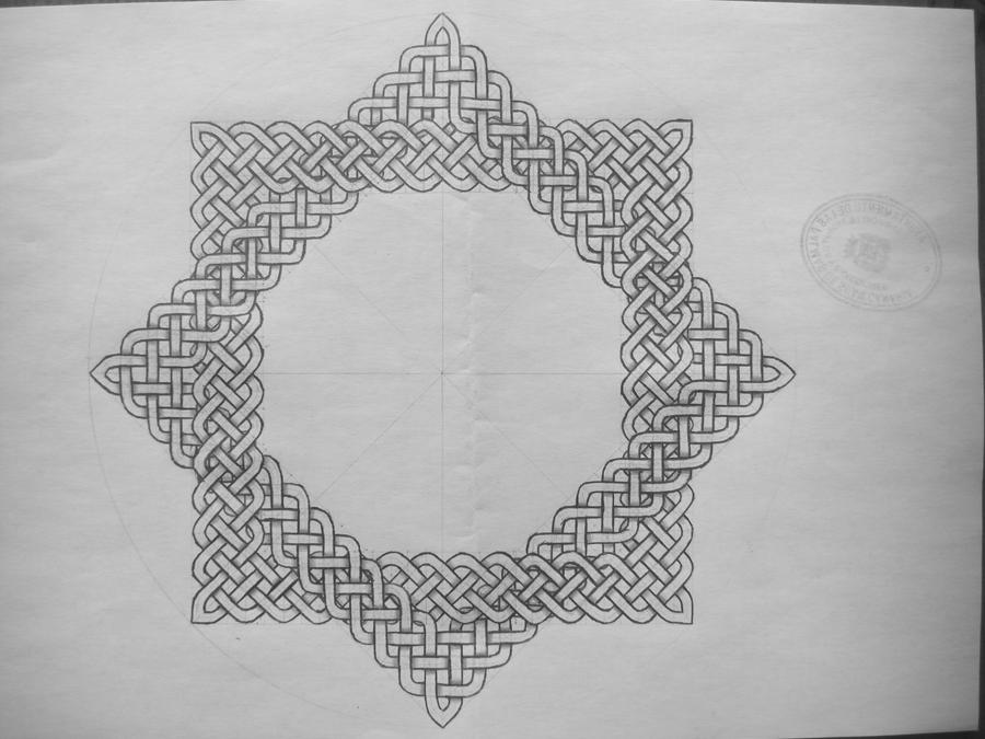 Two squares celtic knot by Trablete