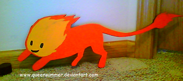 Flambo -woodshop project- by SummerSnowLeopard
