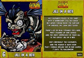 12 Days of Halloween - 6. Jill In A Box