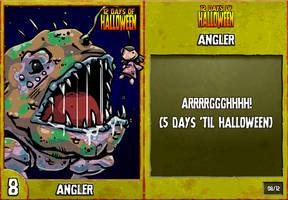 12 Days of Halloween - 8. Angler