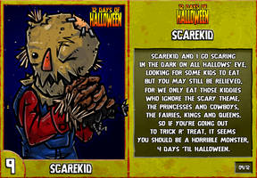 12 Days of Halloween - 9. Scarekid