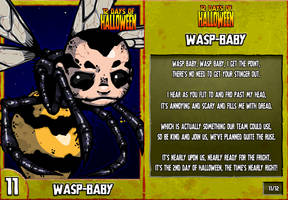 12 Days of Halloween - 11. Waspbaby
