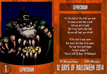 12 Days of Halloween 2014 - 1. Leprechaun