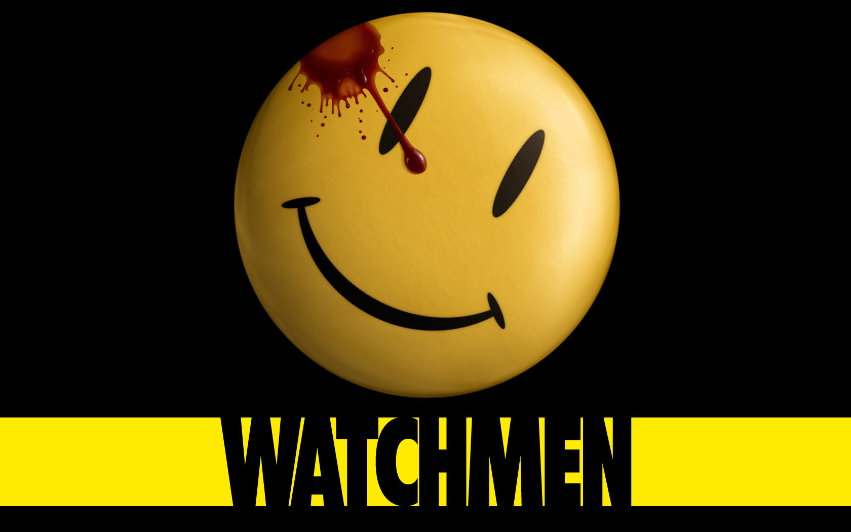 Watchmen Smiley Wallpaper by ash369