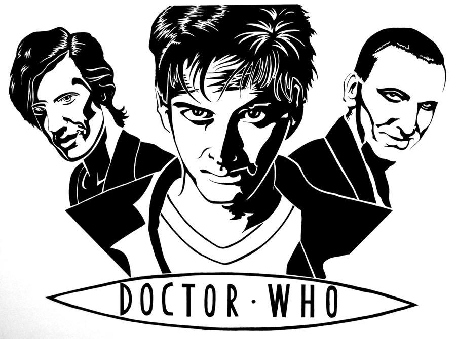 Doctor Who - Birthday Present by Estel-the-Rasai