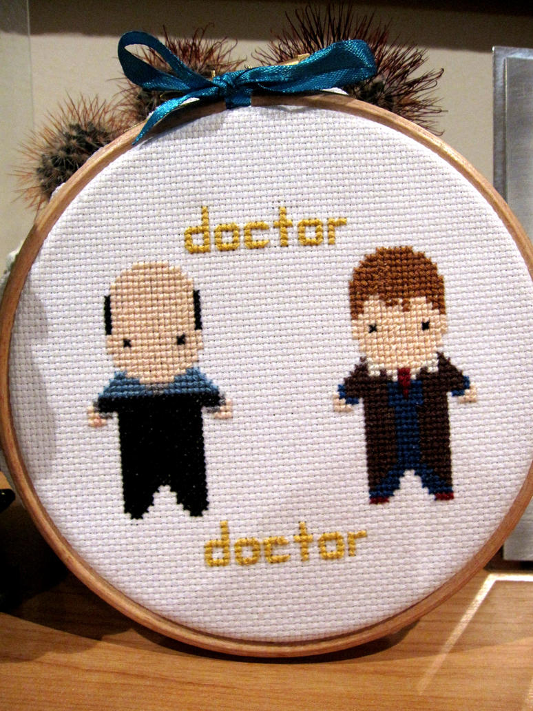 The Doctors X-Stitch by Knot-All-There
