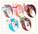 Easter Hatchable Bunnies Batch [CLOSED]