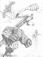 Fantastic Four by LakLim