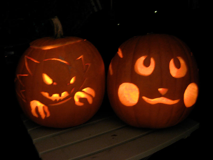 Pokemon jack o lanterns by piccoloakira on deviantart for Pokemon jack o lantern template