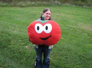Giant Plush Tomato