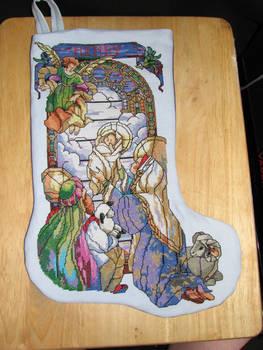 Cross Stitch Stocking 10