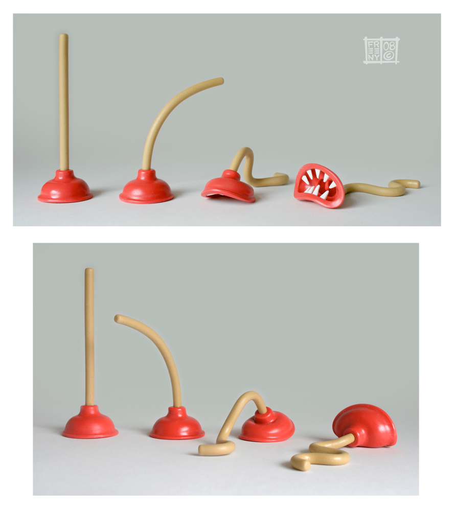 Plunger Monsters by freeny