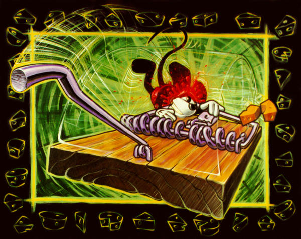 Mickey mouse trap by freeny on deviantart - Tapette a souris ...
