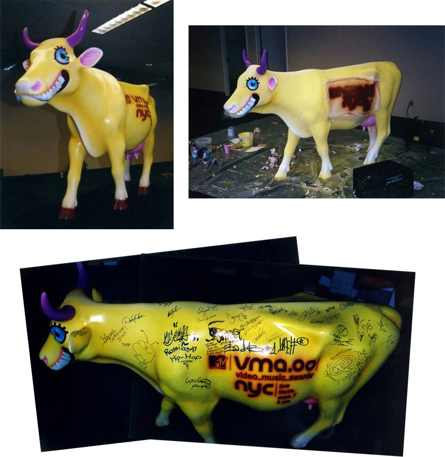 MTV Cow Parade by freeny