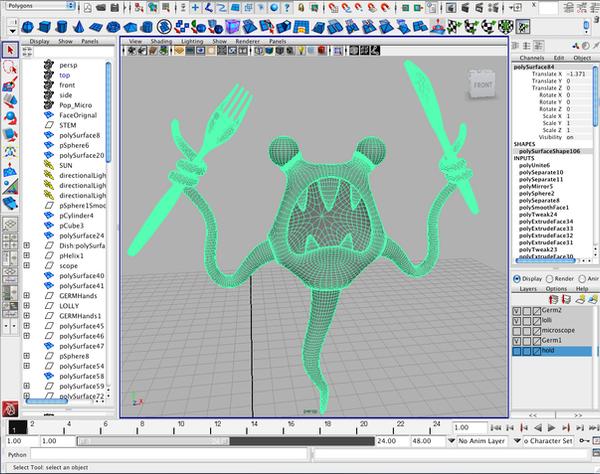 Polygon Modeling Screenshot by freeny