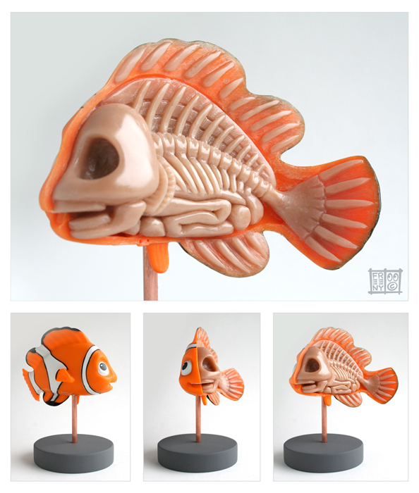 Nemo Anatomy Sculpt by freeny