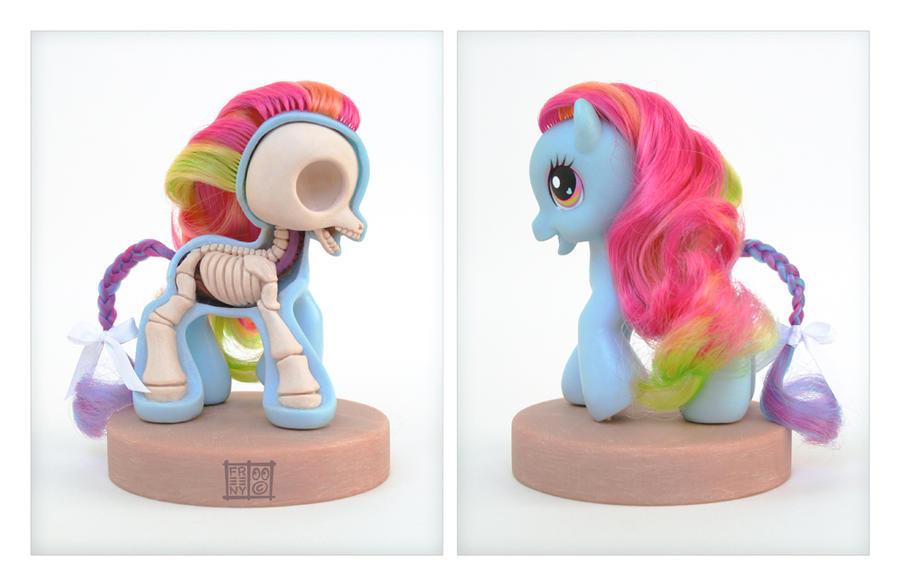 My Little Pony Anatomy Sculpt by freeny