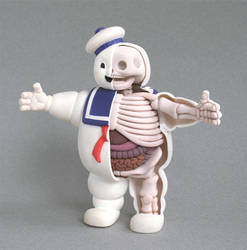 Stay Puft Anatomy Sculpt