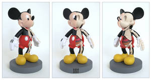 Mickey Mouse Anatomy Sculpt