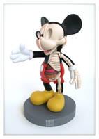 Mickey Mouse Anatomy Sculpt x