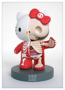 Hello Kitty Anatomical Sculpt
